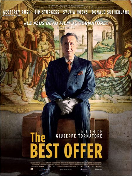 l'affiche du film The Best Offer