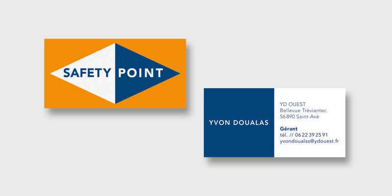carte de visite safety point